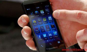 Blackberry telefonlarda rehber nasıl silinir ?