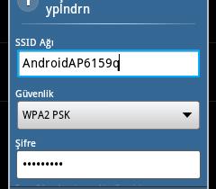Android telefonunuzu modem olarak kullanma