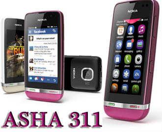 Nokia Asha 311 3G Görüntülü Konuşma Varmı