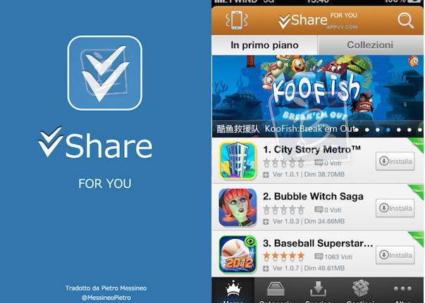 İphone için vShare nasıl kurulur ?