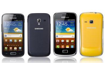 Galaxy Mini 2 cihazında ön kamera var mı?