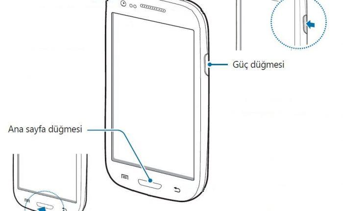 Galaxy S3 Mini'de ekran görüntüsü çekme