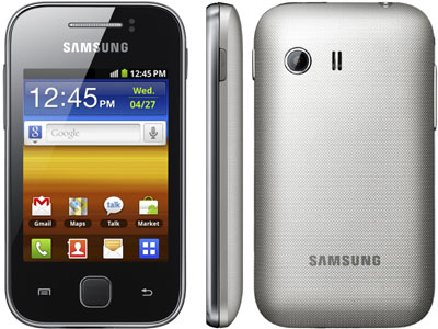 Galaxy Y ekran görüntüsü çekme