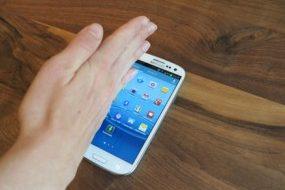 Galaxy S3'de ekran görüntüsü çekme
