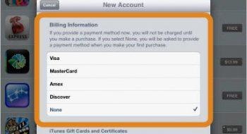 Kredi kartsız apple strore itunes hesabı almak
