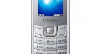 Samsung E1205T SPT Arapça Firmware indir