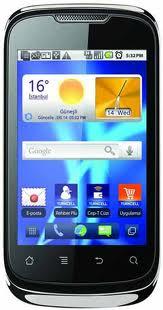 Turkcell T20 Huawei U8650 Android Orjinal Rom indir