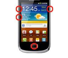 Samsung Galaxy Mini2 S6500D Recovery Mode