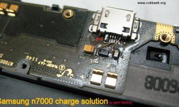 Samsung Galaxy Note N7000 Şarj Yolları