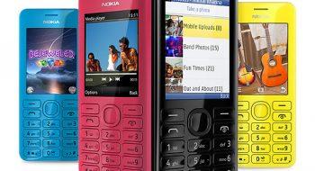 Nokia 206 RM-873 V3.58 TR Türkçe Firmware Flas indir