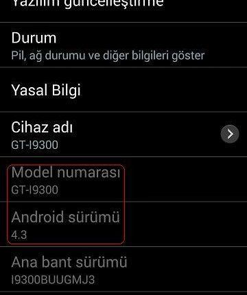 S3 i9300 4.3 imei şebeke sorunu çözümü