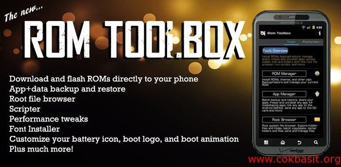 Rom Toolbox nedir , ne işe yarar ?