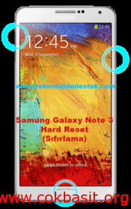 Samsıng-Galaxy-Note-3-Hard-Reset