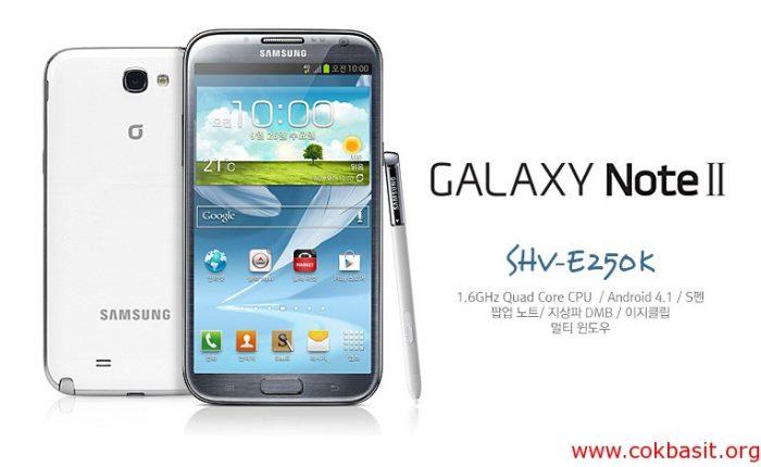 Samsung Note2 SHV-E250K spt imei repair işlemi