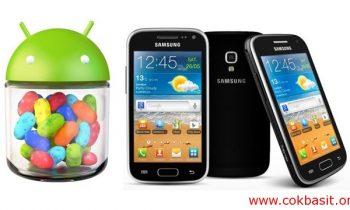 Samsung Android Ekranda Sarı Yazılar Çıktı