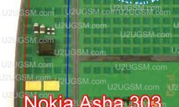 Nokia Asha 303 iç kulaklık yolları – ear speaker ways