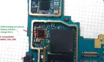 Samsung J7 J700F şarj oluyor ama doldurmuyor