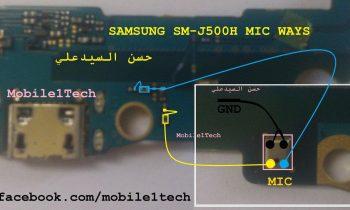 Samsung j5 2015 j500h mic ways mikrofon yolları