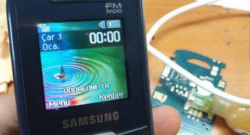 E1205 şebeke yuvarlak kırmızı çözümü