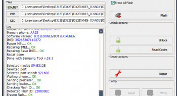 B312E z3x Türkçe Tr flash %100